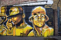 DSC_4297 London Dalston Street Art Hip Hop Raised Me 840 Arts By Carleen De Sözer & Candie Bandita (photographer695) Tags: london dalston street art hip hop raised me 840 arts by carleen de sözer candie bandita