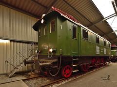 Personenzuglok E32 27, Bj. 1925 durch Maffei AG/BBC (Thorsten Mothes) Tags: ep2 e32 e3227 stangenantrieb drg dr dgeg db bochumdahlhausen eisenbahnmuseum