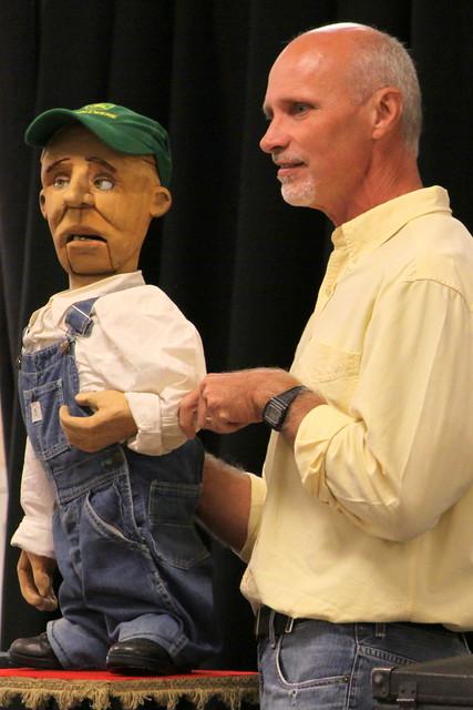 2017 TN State Fair: Ventriloquist David Turner and Tad Short