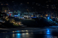 Laguna Beach - City Lights - 3238 (www.karltonhuberphotography.com) Tags: 2017 beachtown citylights citystreets colorful earlymorning horizontalimage karltonhuber lagunabeach light longexposure nightphotography oceanfront outdoors reflections rentals seascape shine shops smoothwater southerncalifornia storefronts