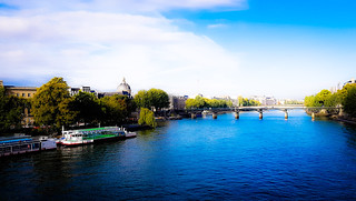 Water Outdoors Tree Day Sky Vacations Blue Nature No People Pout Neuf Port Des Arts Cloud - Sky Architecture La Seine Monnaie Landscape Tranquility Sunshine at Pont Neuf