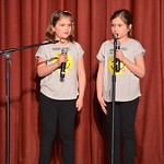 Grace & Kaela Telling Jokes On Stage thumbnail