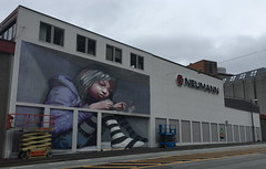 AFK work in progress (svennevenn) Tags: gatekunst streetart bergen afk barnslig murals joy