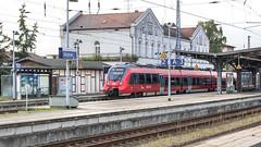 Bahnhof Güstrow (Zarner01) Tags: canon canoneos750d sigma1750f28oshsm sigma eos digital outdoor bahnhof deutschebahn db regio dbregio germany deutschland mecklenburgvorpommern