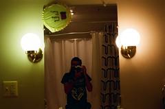 mirror (amackcrane) Tags: nikkormat ft2 55mmf35 micronikkor kodak 400