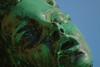 Green Faced (gripspix (OFF)) Tags: 20170828 kempten allgäu sanktmangbrunnen jugendstil artsandcrafts brunnen fountain bronce bronze patina statue figure green grün face gesicht