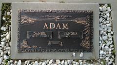 Gravestone - Daniel Adam