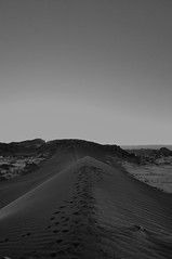 Valle de la luna (francescariccardi) Tags: sand dune moon valley chile san pedro atacama desert bw black white landscape travel monochrome backpackers nature light blackandwhite nikon