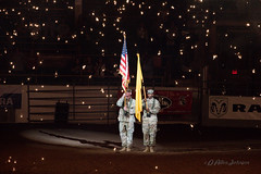 U S Army Color Guard (D Allen Johnson Photography) Tags: united states military army honor color guard new mexico bernalillo county albuquerque prca professional rodeo cowboys association cowboy indoor arena event sport sports sporting flag state tingley coliseum
