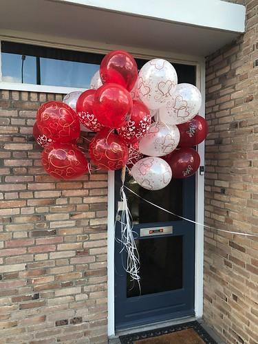 Heliumballonnen Liefde Kaatsheuvel Valentijnsdag