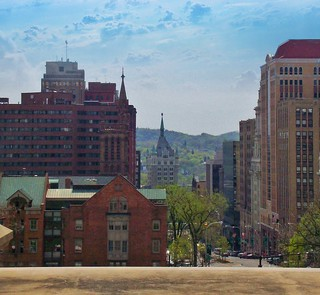 Albany ~ New York ~ Downtown View ~ State Street  Historic District