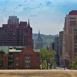 Albany ~ New York ~ Downtown View ~ State Street  Historic District thumbnail