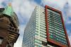 Rotterdam (Don Pedro de Carrion de los Condes !) Tags: donpedro d700 demaas hollandamerikalijn landverhuizers icoon hoofdkantoor nieuwamsterdam maasstad detail kopvanzuid architectuur