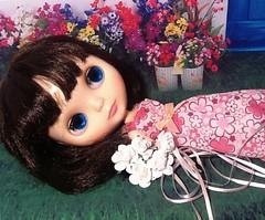 "Blythe-a-Day September#15: Flowers: Nylah: ""Come away, O human child!"""