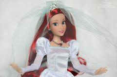 Ariel wedding 07 (Lindi Dragon) Tags: doll disney disneyprincess disneystore dolls ariel little mermaid 2017 wedding