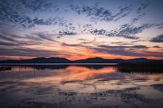 Sunset in Sävelången