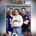 Robert Groody, Derek Bryson Park, and Donald J. Casey at Super Bowl XXXIV