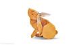 Scratching Rabbit (Koh) (cavemanboon*) Tags: rabbit scratching itchy ronaldkoh ロナルド・コウ origami 折り紙 兔 ウサギ paperfolding cavemanboon singapore malaysia boon 羅納德・許