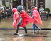 Water Tourism (Emil de Jong - Kijklens) Tags: kijklens kijklensnl amasterdam rood red rain regen tourists toerisme toerist sightseeing weather netherlands ruleofodds kijkenmetkijklens nieuwmarkt