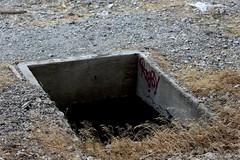 Seriously, Watch Your Step (LookSharpImages) Tags: lime oregon limeoregon abandoned abandonedspaces
