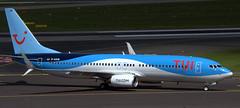 Boeing 737-8BK D-ASUN (707-348C) Tags: dusseldorfairport tuifly airliner jetliner boeing boeing737 b738 dasun dusseldorf dus eddl passenger tui