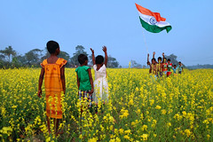 70 Years of Independence - Tryst with The Future (pallab seth) Tags: india70 happyindependenceday tricolour nationalflag india
