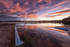 Red Mirror (Crouchy69) Tags: sunset dusk landscape seascape ocean sea water coast clouds sky reflection north narrabeen pool beach sydney australia