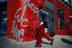 Red Red Love (mgiachetti) Tags: manhattan ny newyork nyc usa america urban people photography street streetphotography red color city