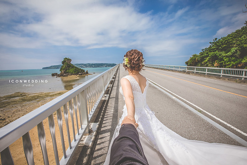 海外婚紗,沖繩婚紗,古宇利橋,婚紗側錄,婚紗攝影