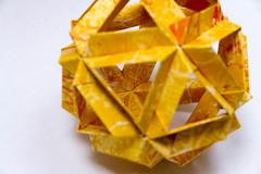 Skella Alpha Kusudama (30 units, icosahedron) (Brian Ritchie) Tags: kusudama mariasinayskaya skellaalpha modular origami
