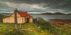 Rusting Rustic (Adam West Photography) Tags: abandoned adamwest alone art beauty clouds cottage countryside croft hebrides history iron island isles mountains rust scotland seascape sky uist western wild