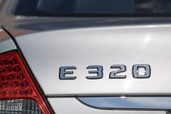 E numbers are bad for you! (jasonsimms1) Tags: e320 320 eclass mercedes numbers flickrfriday