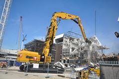 Finning DSM Demolition Cat 6015 White Hart Lane (finningnews) Tags: finning dsm demolition cat 6015 white hart lane kocurek bespokeunited kingdomfinning bespoke