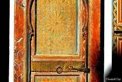 MAROCCO 01-2015 046 (Elisabeth Gaj) Tags: maroco012015 elisabethgaj marocco marrakech afryka travel door bahiapalace
