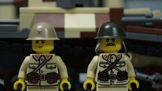 Lego Japanese Imperial Soldiers