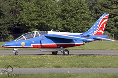 E45 / French Air Force / Alpha Jet E (Peter Reoch) Tags: e45 dassaultbreguet alpha jet e french air force london biggin hill airport londonbigginhillairport bigginhill festivalofflight festival flight 2017 airshow aircraft show flying display british aviation lapatrouilledefrance patrouille de france patrouilledefrance pdf team arméedelair armée lair
