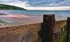 Isle of Wight Coastal Path Totland Bay (D.T.Morris) Tags: walk hiking coastal path isle wight cliff sea totland bay groin groyne david morris dtmphotography walking hike coast