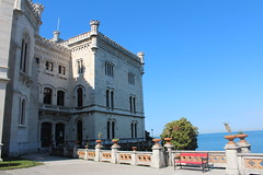 Castle Miramare (katharinaburgstaller1) Tags: castle miramare trieste italy sea sun blue sky beautiful summer tb may view hot loveit canon