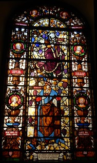 Saint George's Church, Hanover Square: stained glass window