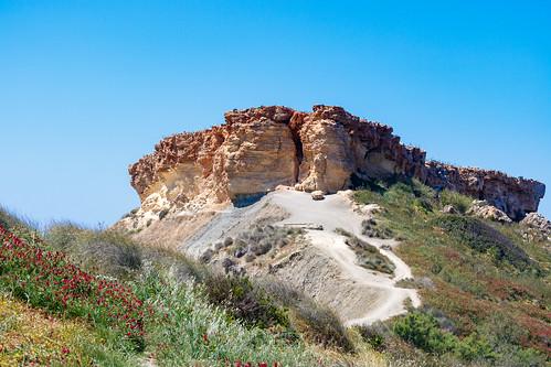 Вид из бухты Айн Туффиха