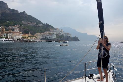 שייט באיטליה 2017 - ליד אמלפי