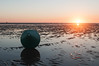 Boya y atardecer (Ferminchovazquez) Tags: sanlucardebarrameda atardecer bajamar playa