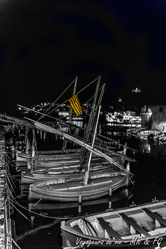 """Barques catalanes au port de Collioure • <a style=""""font-size:0.8em;"""" href=""""http://www.flickr.com/photos/151667760@N04/36449716864/"""" target=""""_blank"""">View on Flickr</a>"""