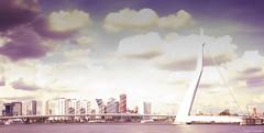 Erasmus Bridge Rotterdam (Eriku-san) Tags: rotterdam erasmus bridge long exposure