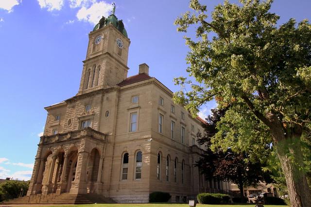Rockingham County Courthouse (Southeast corner) - Harrisonburg, VA