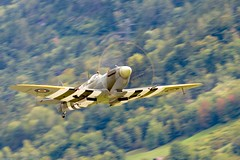 Spitfire (Sébastien Locatelli) Tags: sébastienlocatelli 2017 airshow aviation avion plane aircraft sion suisse valais warbird ww2 canon eos 80d ef 300mm f4 l is usm vickers supermarine spitfire rolls royce merlin mk ix