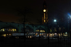 I'm Going to Wait until the 6am Hour (Lojones13) Tags: hoboken terminal night architecture longexposure slowshutterspeed