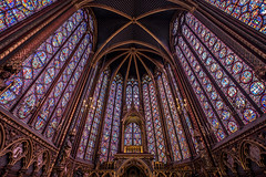 La Sainte Chapelle (amateur72) Tags: fujifilm léo paris monuments vacances xt1