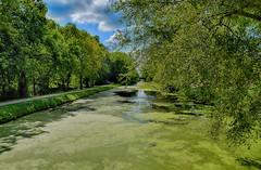 Quiet Afternoon at the Canal (kendoman26) Tags: hdr nikhdrefexpro2 imcanal imcanaliandmcanal iandmcanal travelillinois enjoyillinois nikon nikond3300 nikon1855afs3556 niksoftware morrisillinois