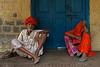 Jojawar. Rajasthan. India (Tito Dalmau) Tags: portrait street man woman jojawar rajasthan india